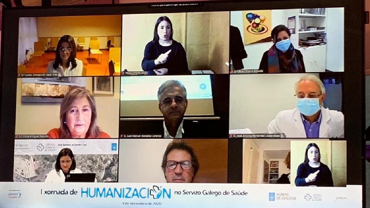 I Xornada de Humanización  - diciembre 2020