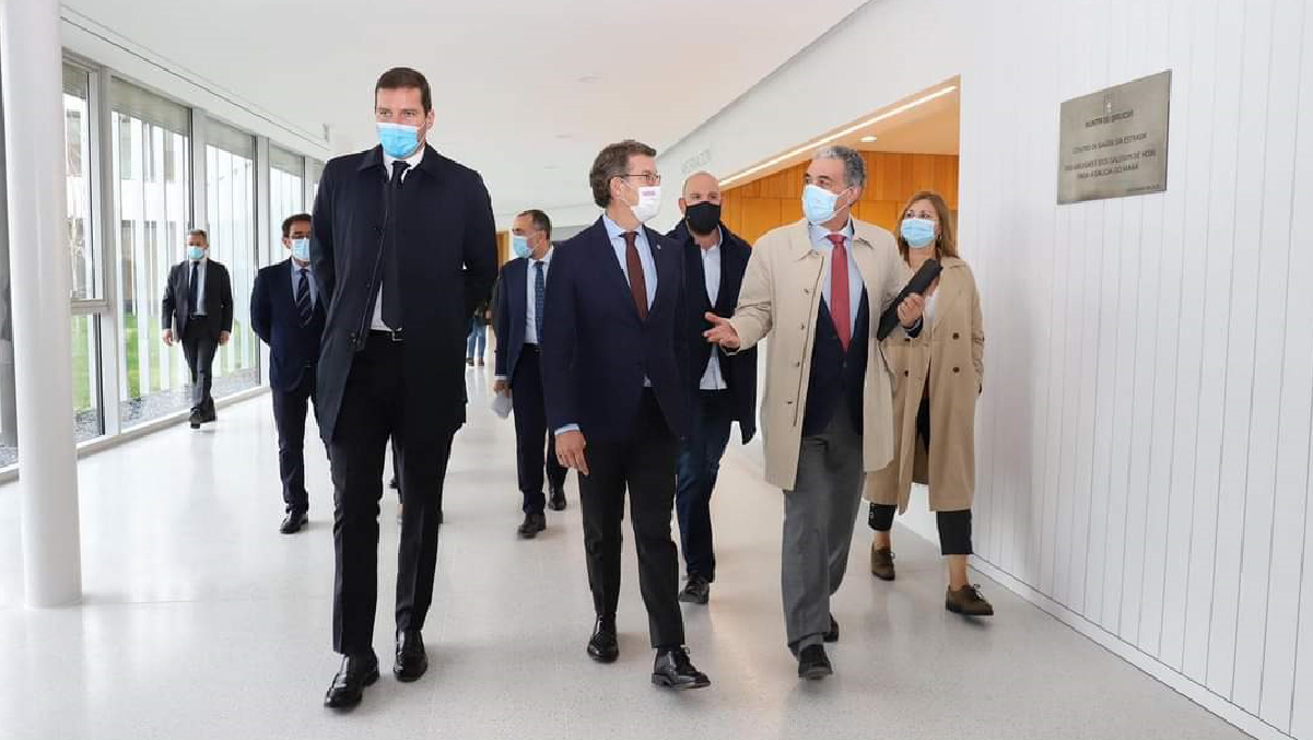 Inauguración do Centro de Saúde de A Estrada – Noviembre 2020
