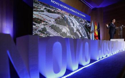 Presentación do Novo Hospital Público da Coruña – Enero 2020