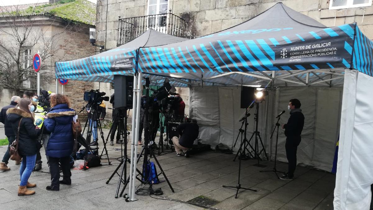 Rueda de prensa 1ª vacunación COVID en Galicia – diciembre 2020
