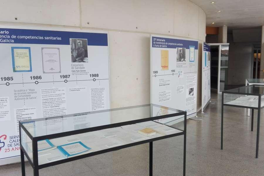 Exposición Servizo Galego Saude 25 anos
