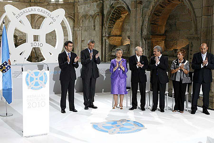 Medallas Castelao 2010