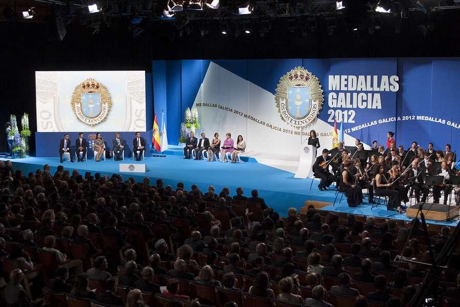 Medallas Galicia 2012