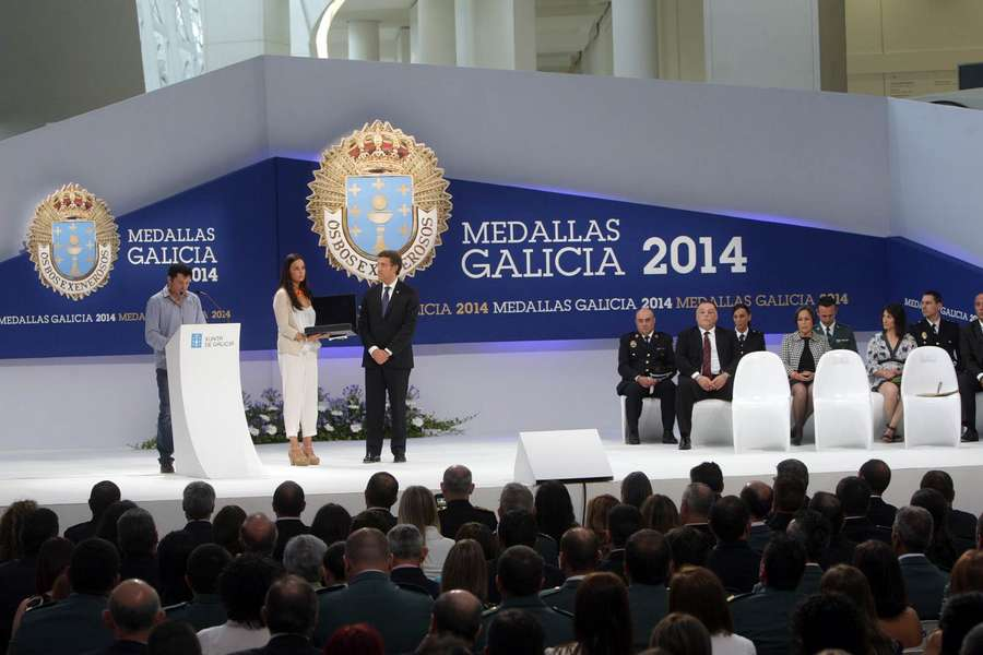 Medallas Galicia 2014